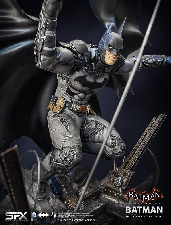 Batman Gets A New Arkham Knight Statue with Silver Fox