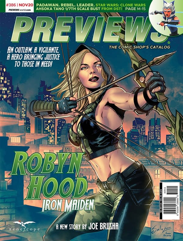 Zenescope Gets Its First Previews Cover - Alongside Frodo Baggins
