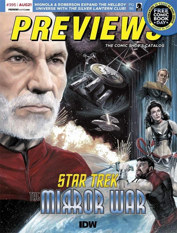 Star Trek: Mirror War & Gunslinger Spawn on Previews Covers Next Week