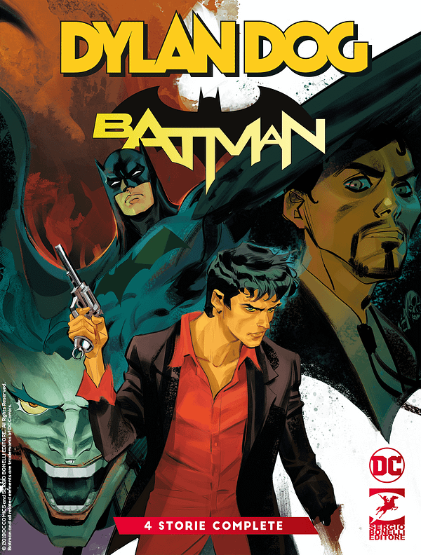 Dylan Dog/Batman #0 Gets a Wide Release With Added Stories Ahead Of 2020 Series