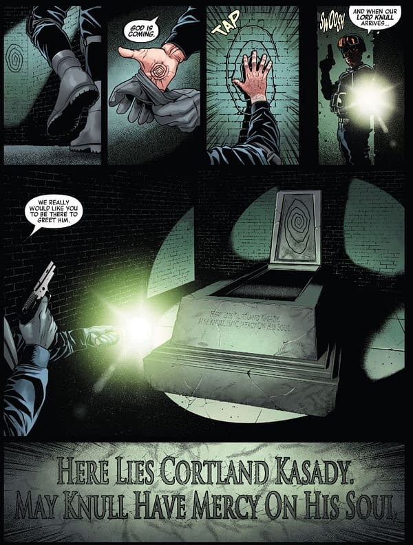 Ruins Of Ravencroft Teases Kasady Return For Knull Event.
