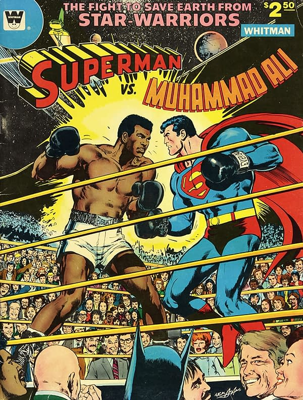 Anthony Scaramucci's Superman Vs Muhammad Ali - Or Is It?