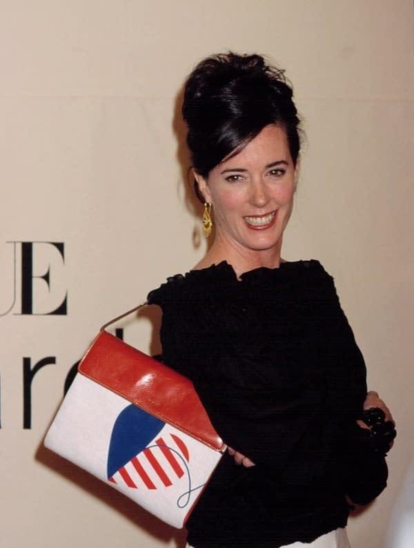 Kate Spade at the VH1/Vogue Fashion Awards, 10/19/01, NYC