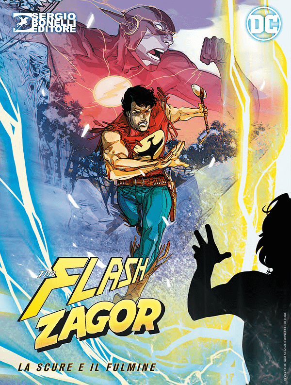 Flash Meets Zagor - USA/Italy Crossover First Preview
