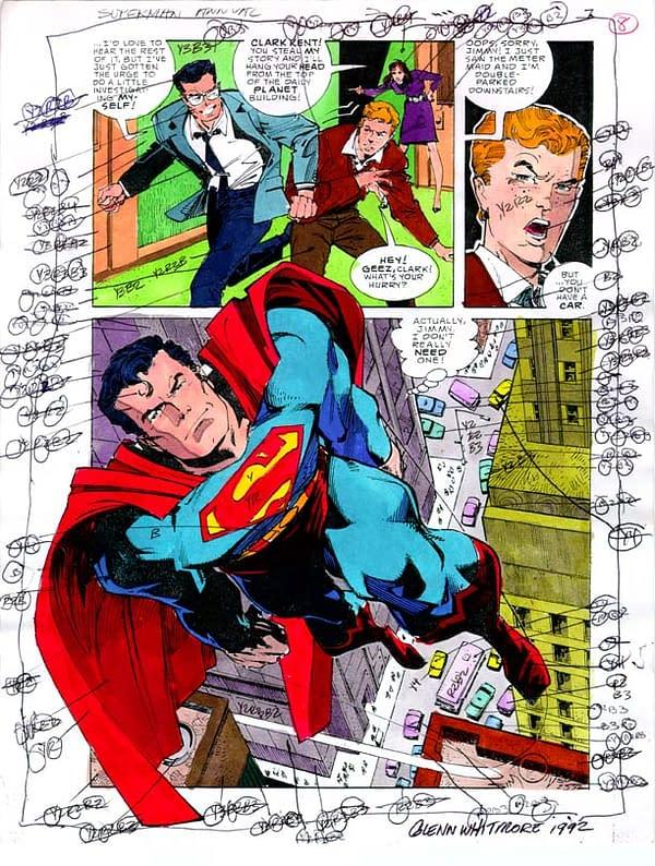 DC Comics to Lose the Gloss? Colourists Take Care