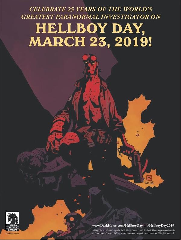 Dark Horse Declares March 23rd is Hellboy Day