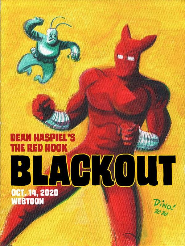 Blackout: Dean Haspiel's The Red Hook Season 4