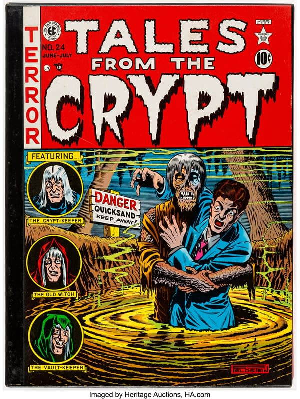 Hardcover Tales from the Crypt Slipcase set. Credit: Heritage