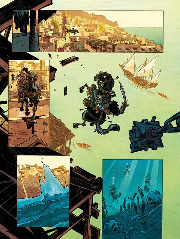 New Conan Comics by Jean-David Morvan and Pierre Alary Look Great in Any Language