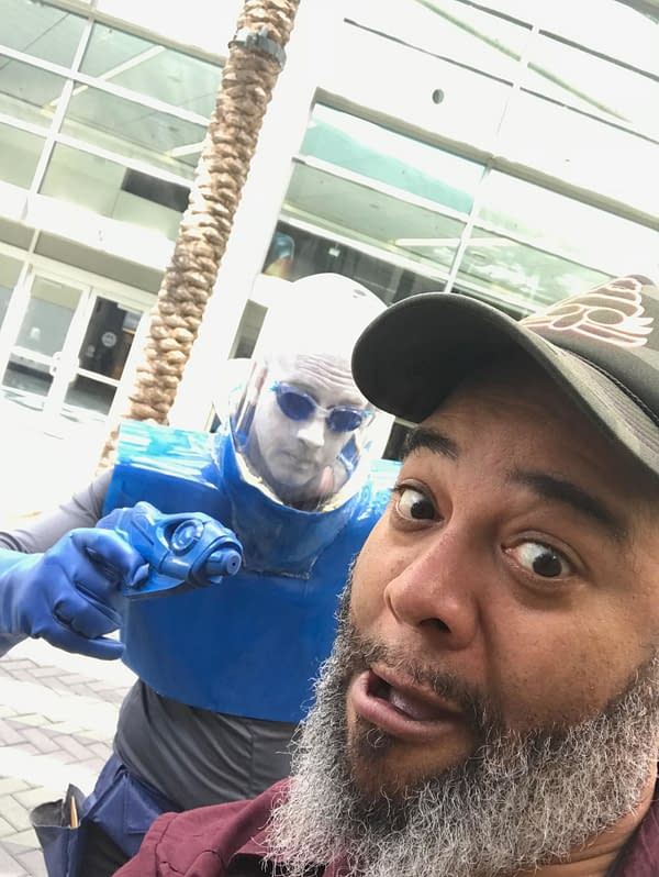 Dieselfunk Dispatch: Indie Wonders at WonderCon 2018 with Niall Westerfield of The Moon Minis
