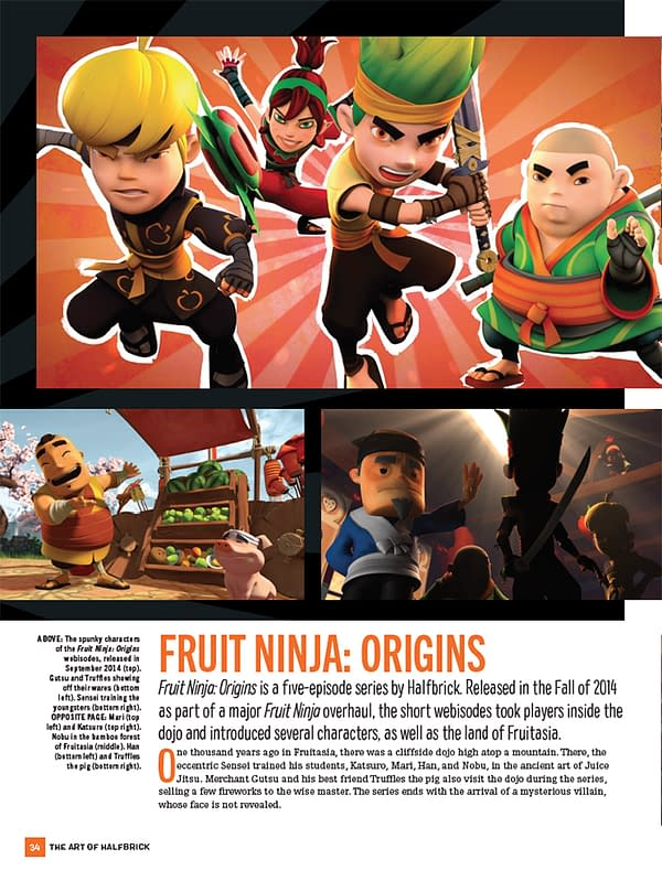 Fruit Ninja, Jetpack Joyride, and More in The Art of Halfbrick