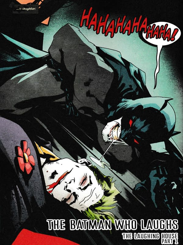 The Joker – Dead Or Alive? (Batman Who Laughs, Detective Comics, Batman Damned Final Page Spoilers)