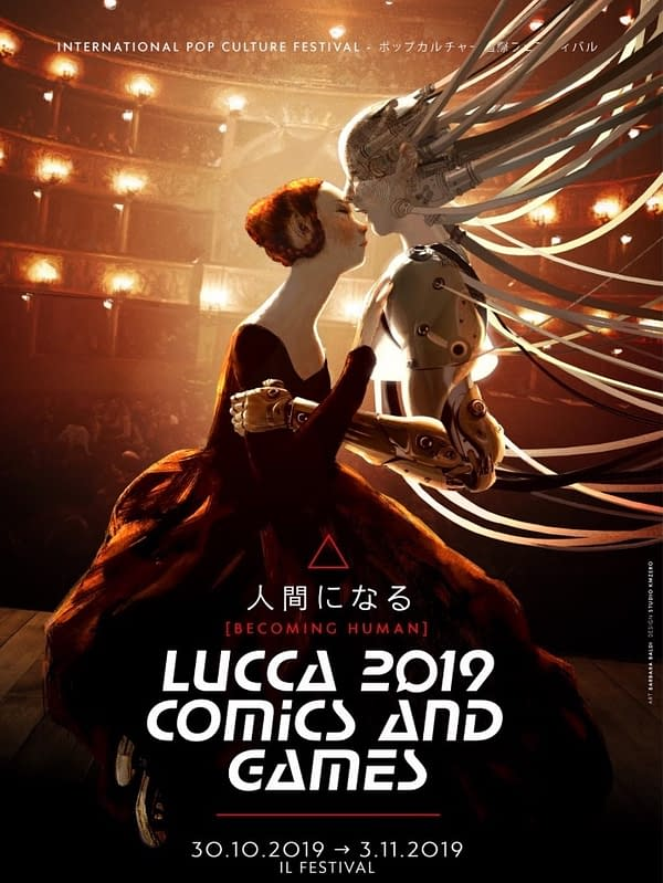 Separated at Birth: Lucca Comics 2019 Poster by Barbara Baldi