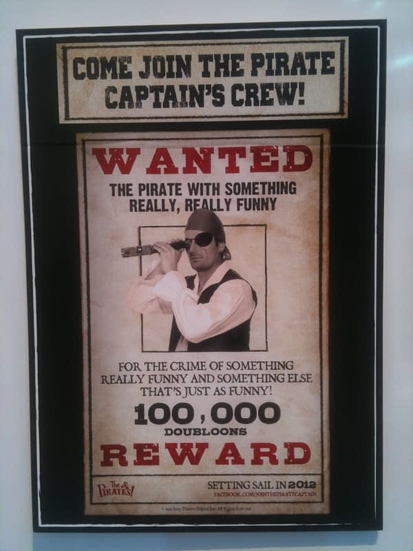 Posters Promote An Aardman Pirates Viral