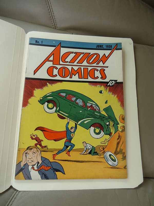 The First Comic To Break The $2 Million Barrier: Nicolas Cage Action Comics 1 Sells For Record $2,161,000