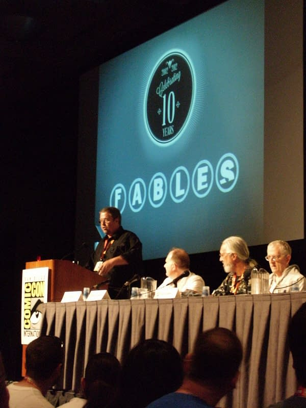 Fables: Willingham's Last San Diego And FablesCon Announcements