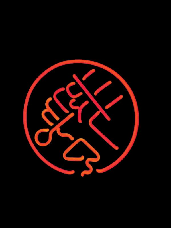 BPRD NEON SIGN RED