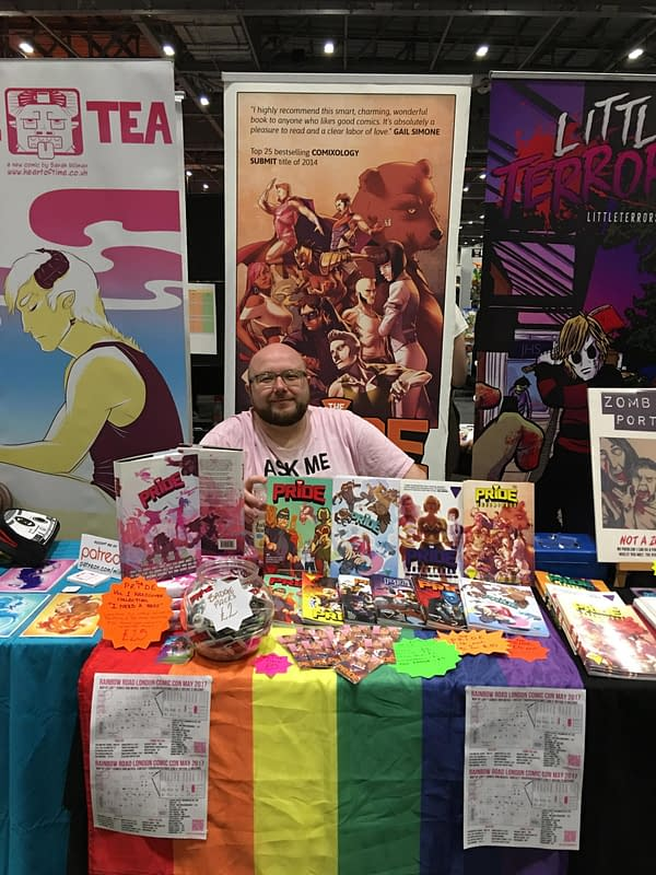 Myself with The Pride at MCM London Comic Con