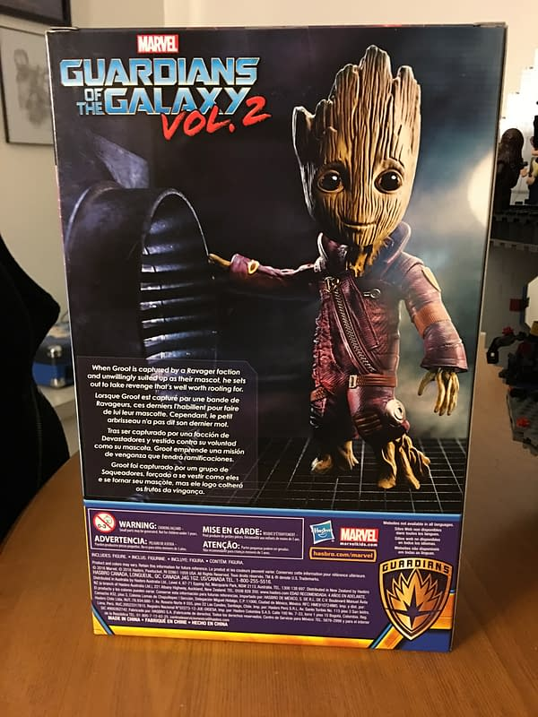 Hasbro's Walmart Exclusive Baby Groot Could Have Been Amazing, Settles For Pretty Cool