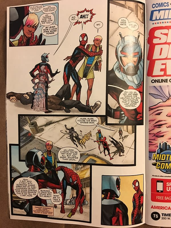 Peter Parker: The Spectacular Spider-Man #1 Spoilers…Who Is That?!?!