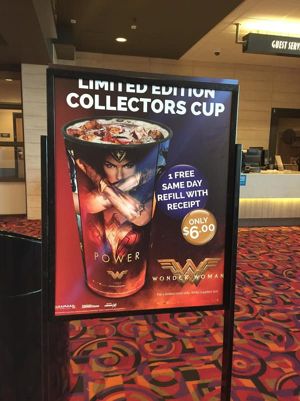 Wonder Woman Collector's cup