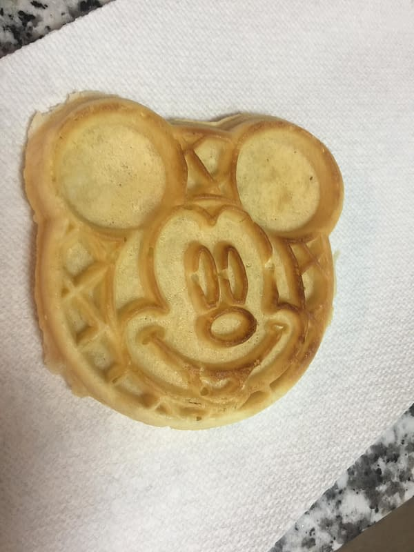 Nerd Food: Mickey Mouse Eggo Waffles — Who's The Leader Of The Waffle? Mickey Mouse!