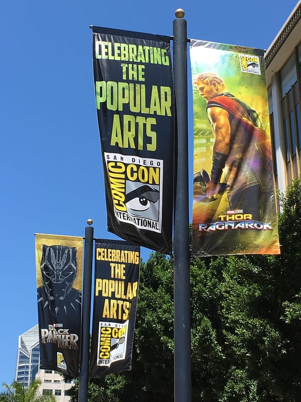 Thor: Ragnarok And Black Panther On San Diego Comic-Con Street Signs For 2017