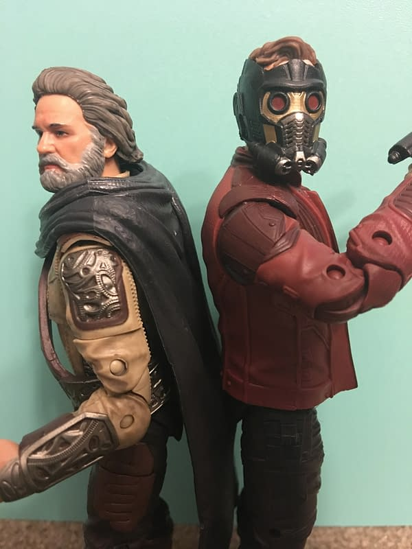 Marvel Legends Star Lord and Ego Two Pack 15