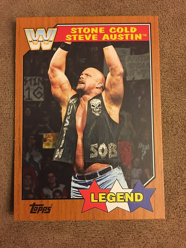 Topps 2017 WWE Heritage: A Bleeding Cool Box Break