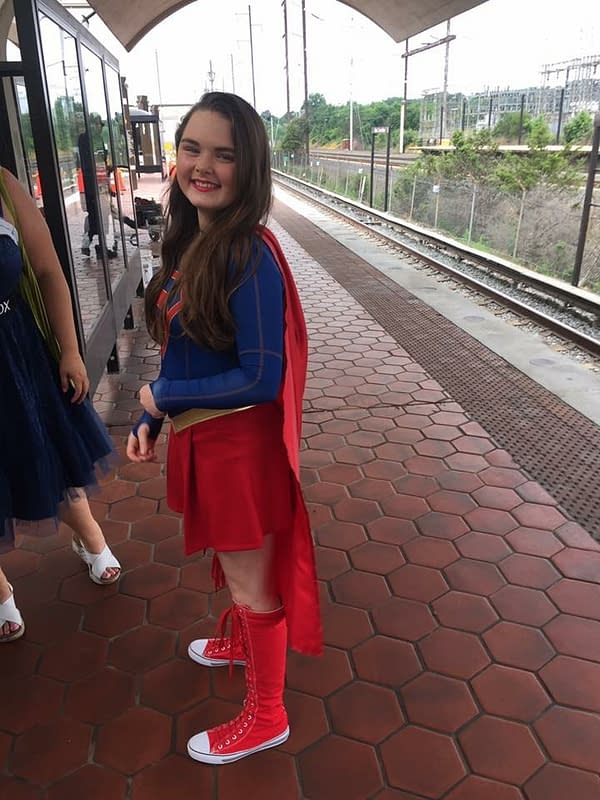 The 'S' Stands For Hope: A Celebration Of Supergirl Cosplay