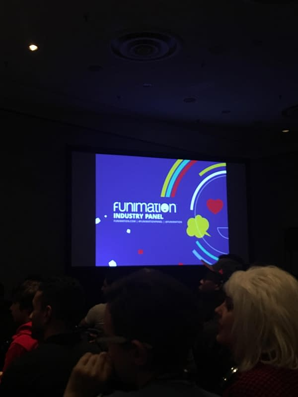The Funimation Industry Panel At New York Comic Con