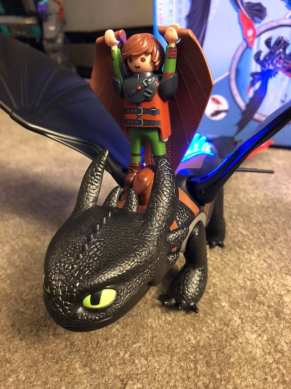 Playmobil Dragons Hiccup and Toothless Playset 6