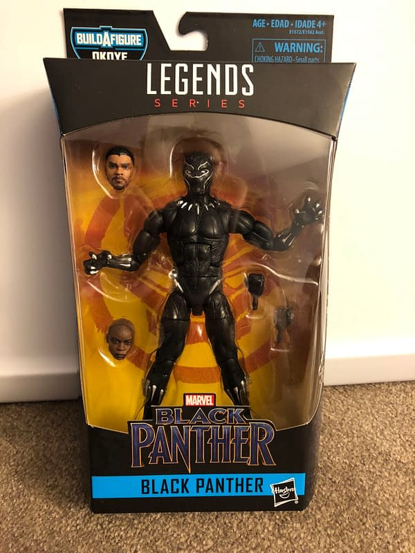 Black Panther Marvel Legends 2