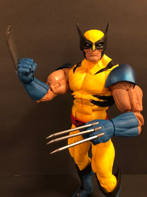 wolverine marvel legends figure