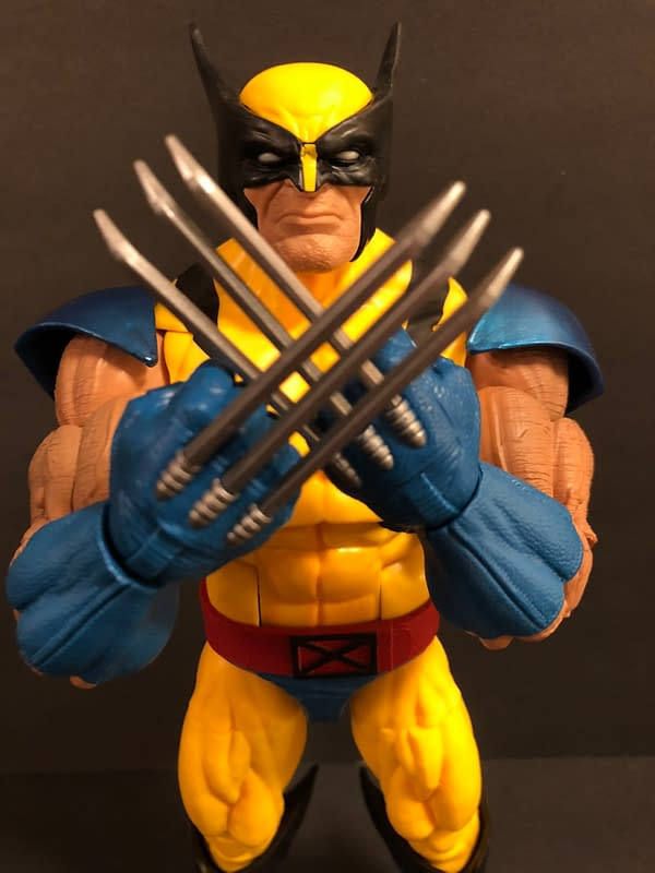 We Take a Look at the Marvel Legends 12-Inch Wolverine Figure