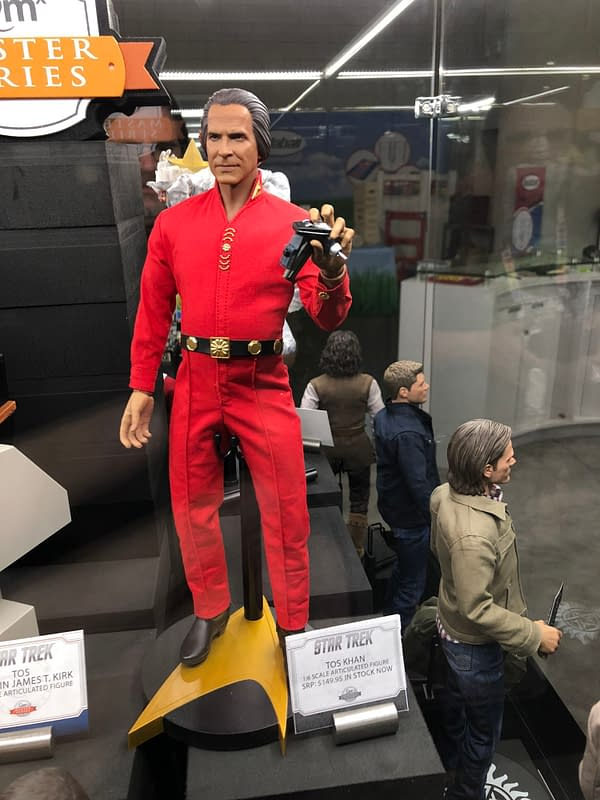 Toy Fair New York: Quantum Mechanix Q-Figs Are All the Rage, 1:6 Scale Figures Steal the Show