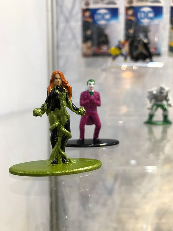 Toy Fair New York: Jada Toys Nano-Metal Figures Are a Huge Hit