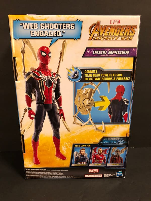 We Take a Look at the Iron Spider Spider-Man Figure from Avengers: Infinity War