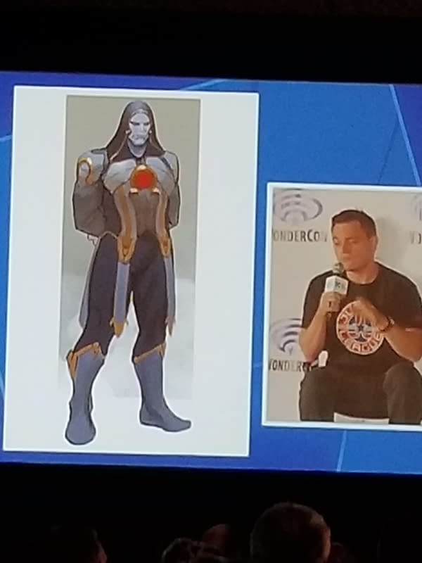 Wonder Woman Leads Justice League Dark and Darkseid Joins Justice League Odyssey, Announced at #WonderCon