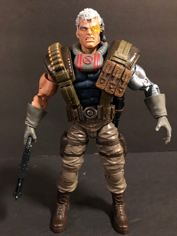 Let's Take a Look at the New Marvel Legends Cable Figure