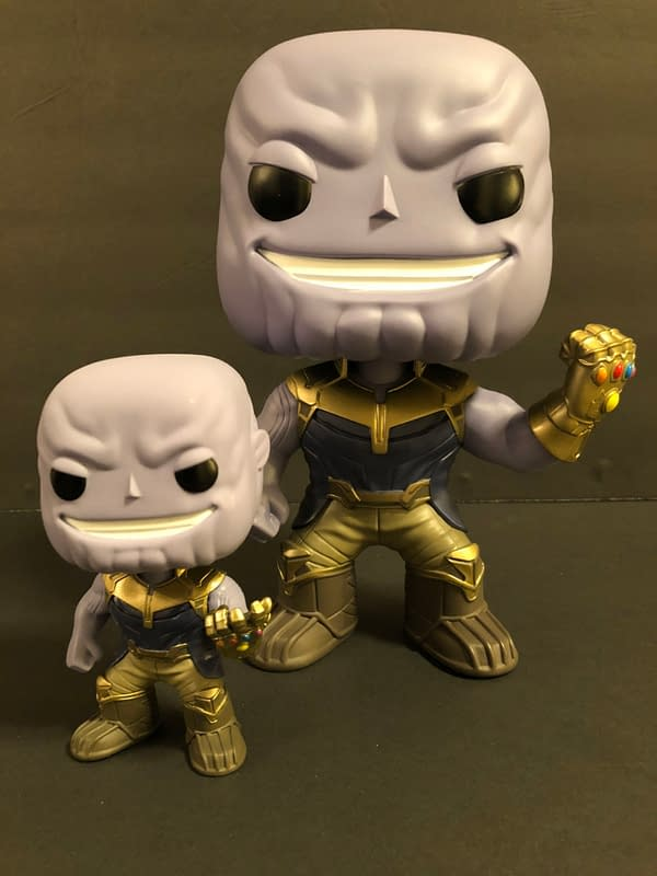 Let's Look At The Thanos 10 Inch Funko Pop And How Awesome It Is