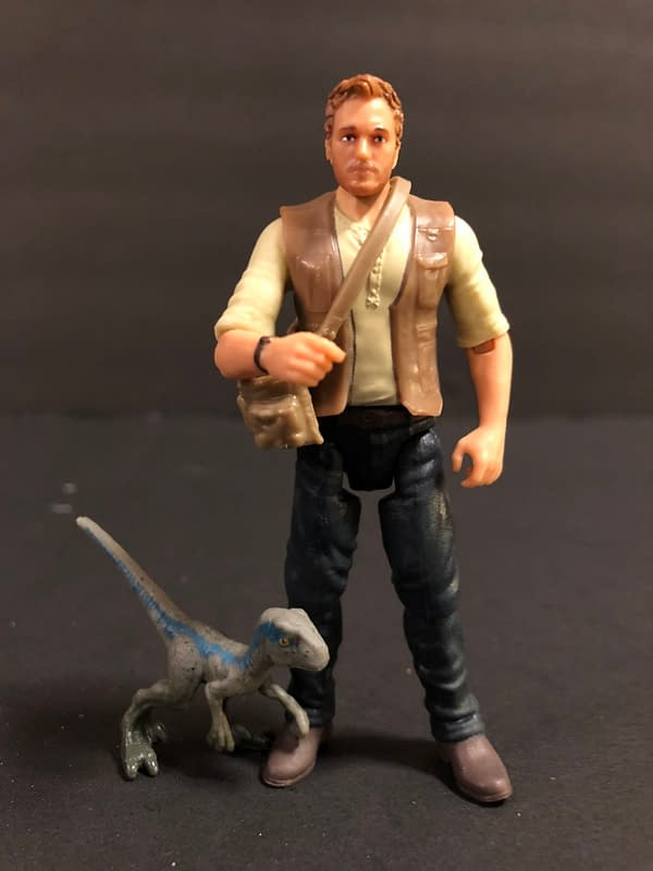 Let's Take a Look at Some Jurassic World Figures! Part 1: Humans