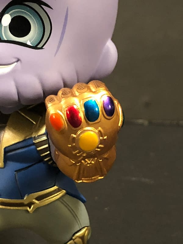 Hot Toys Cosbaby Thanos 8
