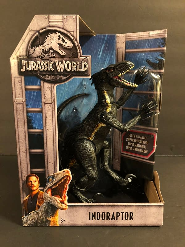 Jurassic World Indoraptor 1