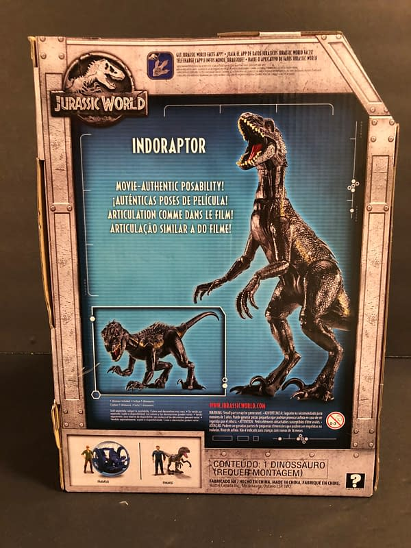 Jurassic World Indoraptor 2