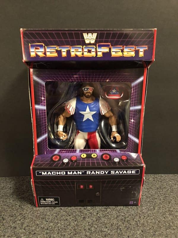 Mattel WWE Retrofest Macho Man Figure