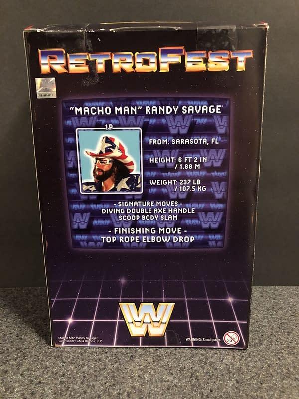 Mattel WWE Retrofest Macho Man Figure 4