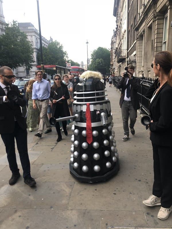 A Dalek Donald Trump Invades London