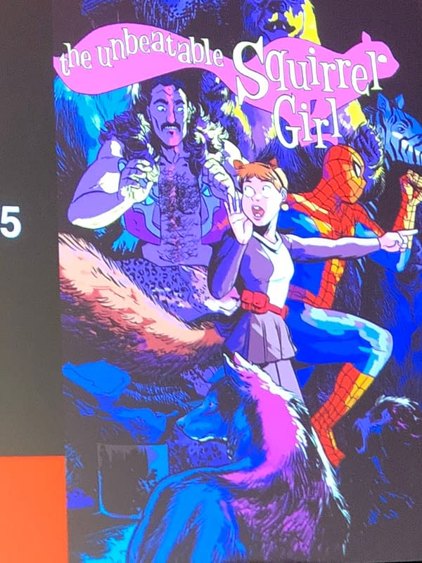 Marvel True Believers Panel Previews Squirrel Girl, Marvel Rising, Spider-Man/Deadpool, Domino, Runaways, and Many More