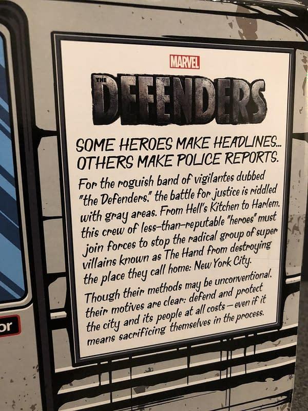 Marvel Legends SDCC Exclusive Defenders Rail Authority Set 5
